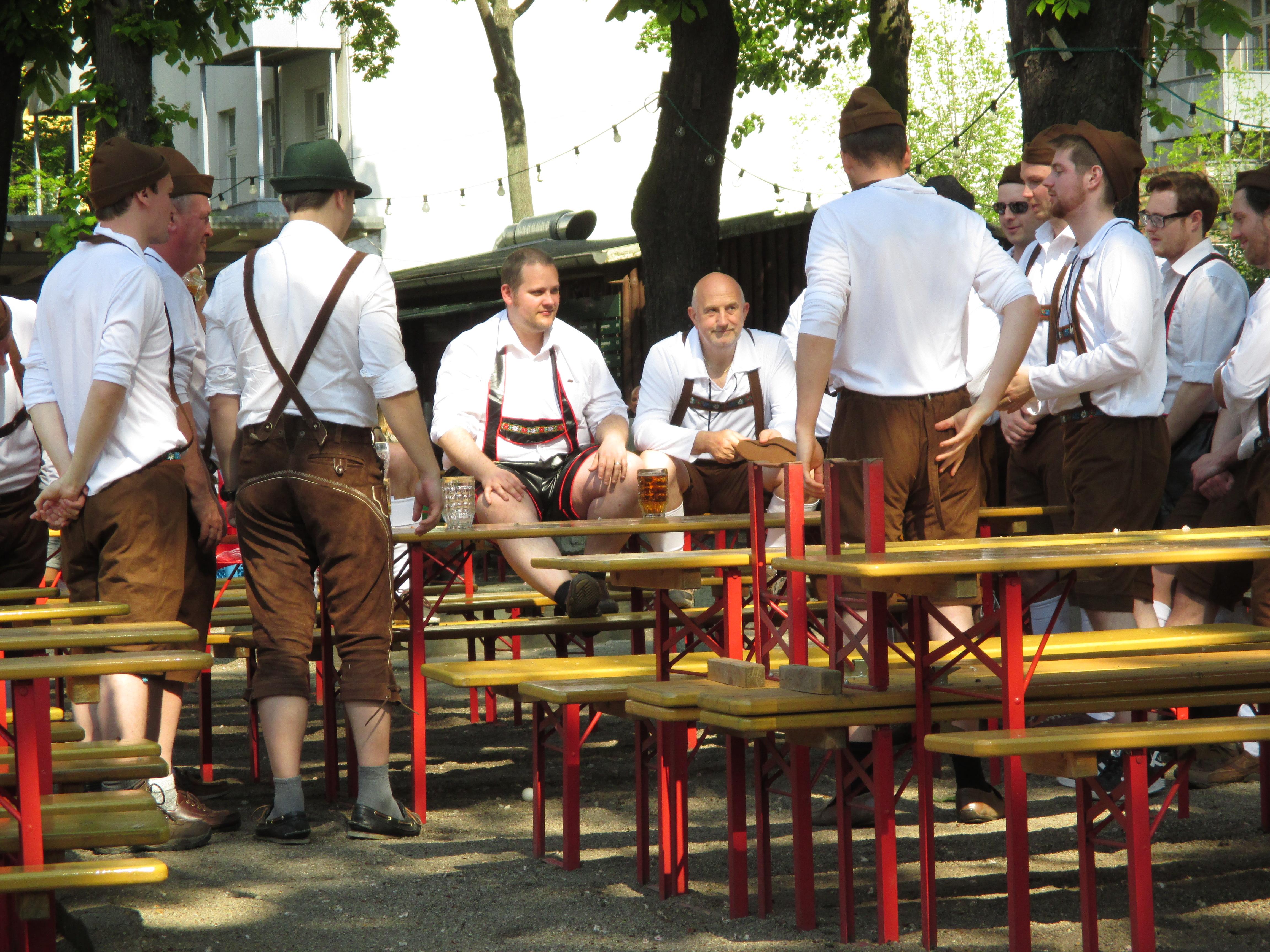 The Prater Beer Garden – Dead Emperors\' Society