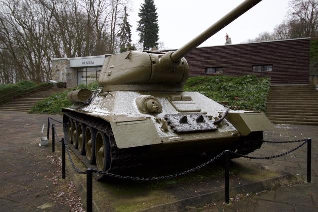 T34 at Seelow