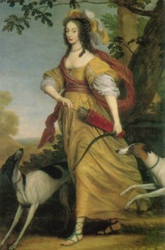Louise Henriette of Nassau, by Willem van Honthorst, image: wikipedia
