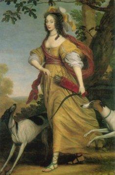 Louise Henriette of Nassau, by Willem van Honthorst, image: wikipedia