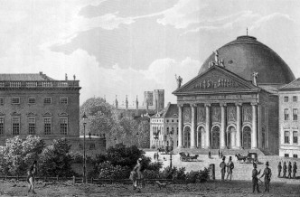 OpernplatzHedwigskirche1850