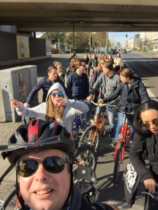 Bike tour of Berlin Wall - departure from Alexanderplatz
