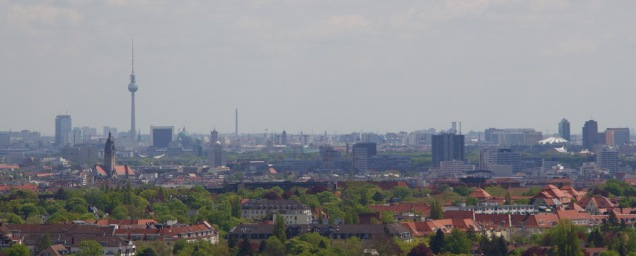 View over Berlin from the top of the Glockenturm