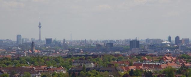 View over Berlin from the top of the Glockenturm