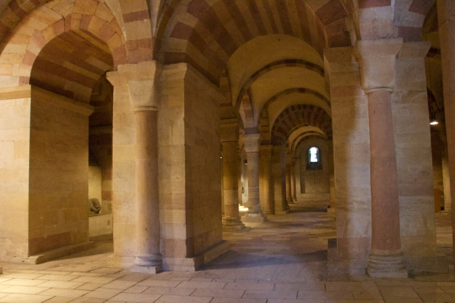 The cathedral's Crypt is also the largest of its type.