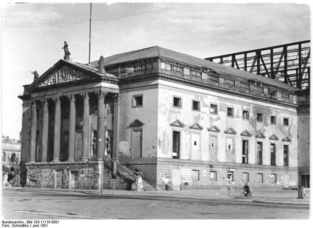 Berlin, Deutsche Staatsoper, Außenansicht