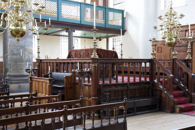 Amsterdam's Portuguese Synagogue dates back to the 1670s.